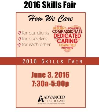 Skills Fair Flyer - 2016